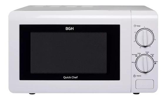 Microondas Bgh Quick Chef B120m16 Mecanico 20lts Full