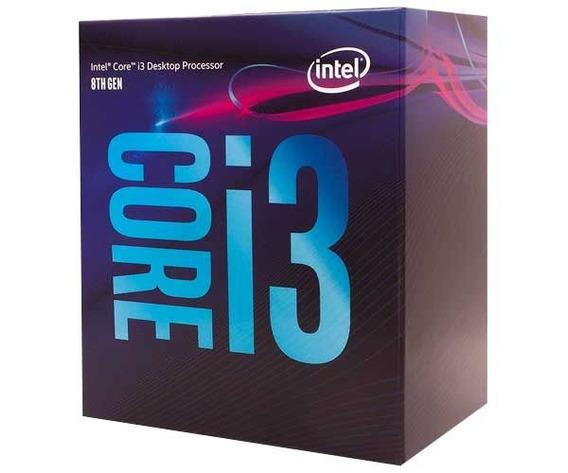 Processador Intel Core I3 8100 8a Geração 3.6ghz, Lga 1151