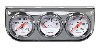 Bosch Sp0f000046 Style Line 2 Juego De Medidor Triple Esfera
