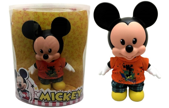Boneco Mickey Mouse Docinho Disney Original Multibrink