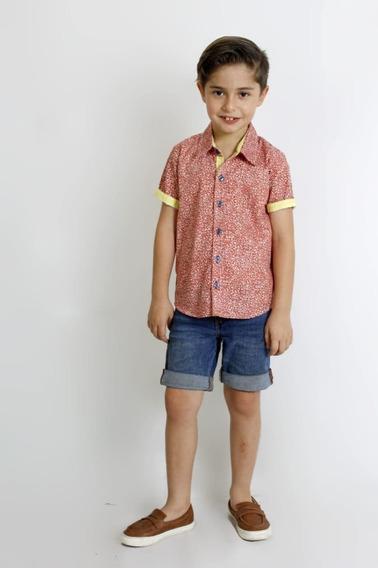 Increibles Camisas Para Niño Tropical Palmeras