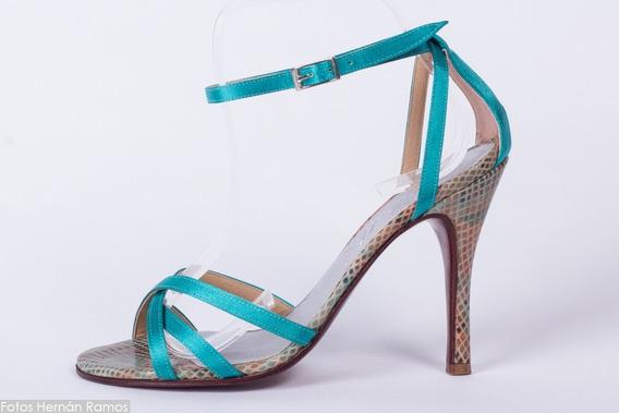 Zapatos De Tango, Baile. Arte Decolibries Colibrí 7.5