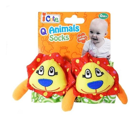 Q Baby Animals Sonajero Pulsera Leon Qt70014