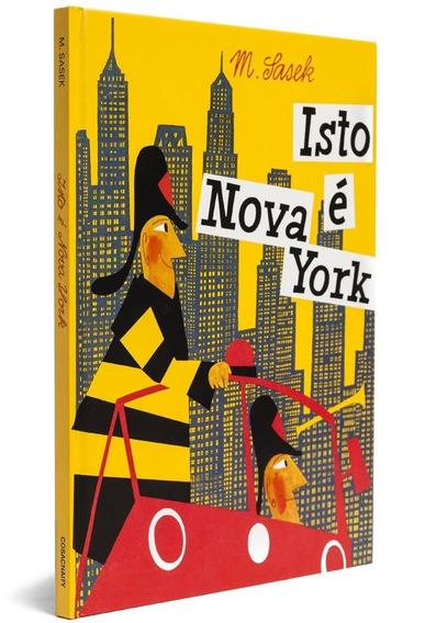 Livro Infantil Isto É Nova York Ed. Cosac Naify Frete Grátis