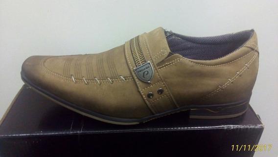 Sapato Sport Pegada 22203-9 Marrom Ipe