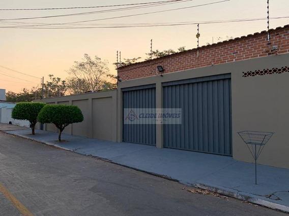Casa Com 3 Dormitórios À Venda, 223 M² Por R$ 350.000,00 - Boa Esperança - Cuiabá/mt - Ca1103