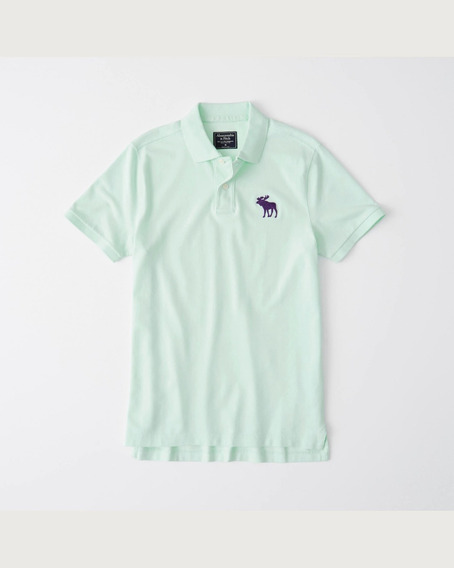 Abercrombie Exploded Icon Polo 100% Original