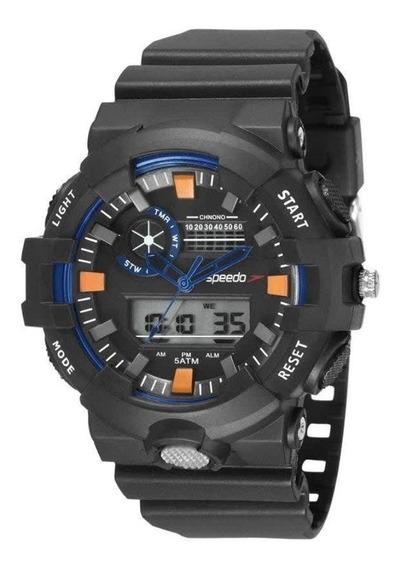 Relógio Masculino Esportivo Speedo 81181g0evnp1 - Preto