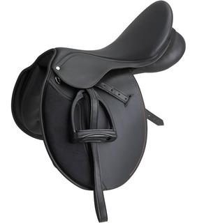 Silla De Montar Para Equitación Caballo Equipada Lujo