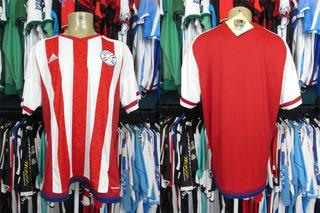 Paraguai 2014 Camisa Titular Tamanho Gg