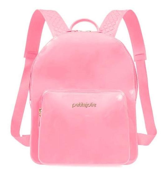 Bolsa Mochila Petite Jolie Kit Bag Pj2032 Original