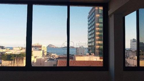 Imagem 1 de 15 de Conjunto Para Alugar, 120 M² Por R$ 9.000,00/mês - Ipanema - Rio De Janeiro/rj - Cj0007