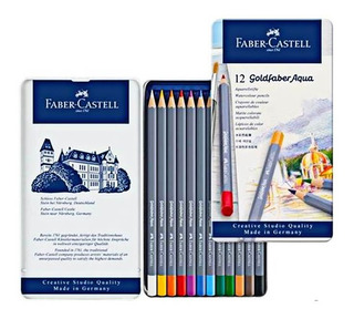 Faber Castell 12 Colores Acuarela Art Grip 114212 Aquarelle