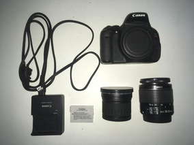 Canon T3i + Lente 18-55mm + 0.21x Digital King Fish Eye Lens