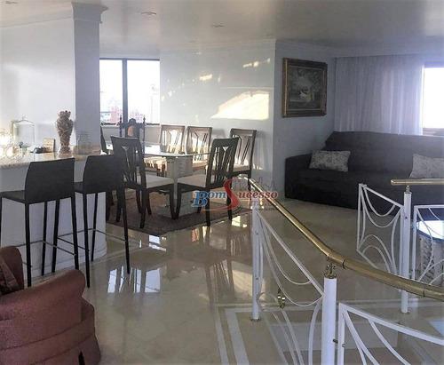 Cobertura À Venda, 368 M² Por R$ 2.500.000,00 - Jardim Anália Franco - São Paulo/sp - Co0089