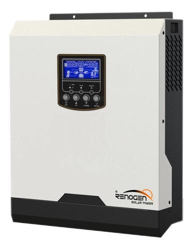 Inversor Cargador Solar 3000w / 6000w 24v 220v Reg Pwm 50a
