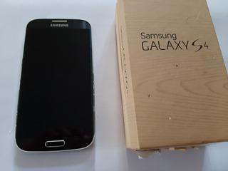 Samsung Galaxy S4 I9500 + 1 Forro + Forro Cargador Usado