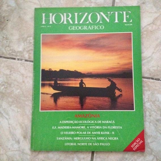 Revista Horizonte Geográfico N6 1989 Amazônia Amyr Klink