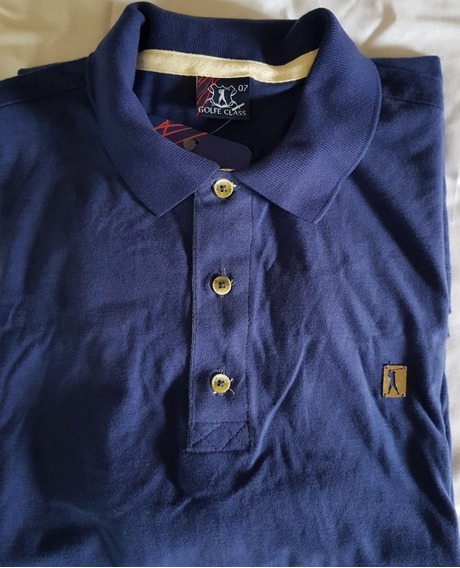 Camisa Polo Plus Size - Golf Class Última Peça Tam. 7
