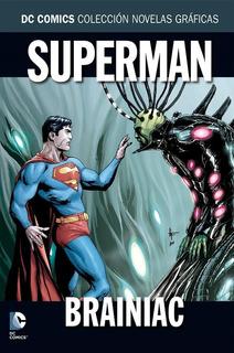 Colección Novelas Gráficas Salvat : Superman - Brainiac
