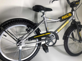Bicicleta Cross R16 Varon + Rueditas + Envio Gratis Nick Cu