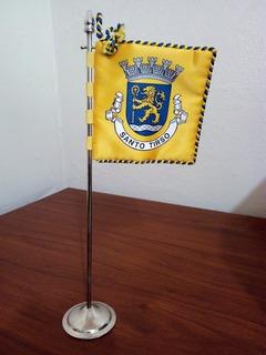 Bandeira De Mesa - Concelho De Santo Tirso / Portugal