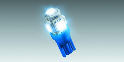 Lâmpada Do Painel Para Moto Com 5 Leds - Azul
