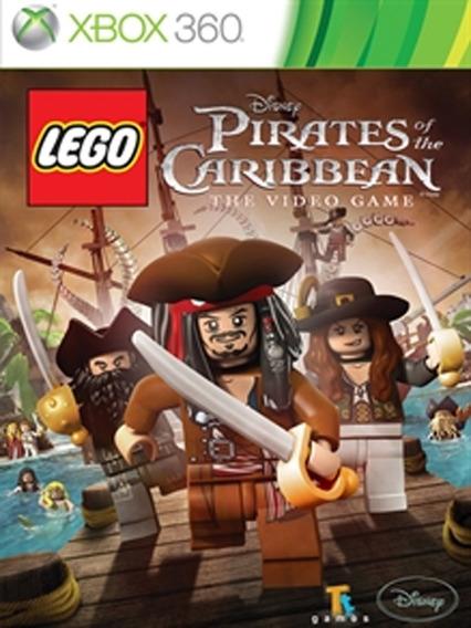 Lego Piratas Dos Caribes Xbox 360 Jogo Digital Licença
