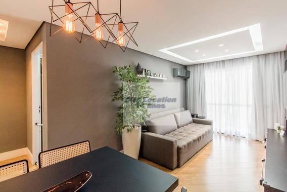 92289 * Lindo Apto De 63m² Com 2 Dorm Sendo 1 Suite E 2 Vagas - Ap1667