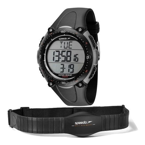 Relógio Speedo Masculino Xtreme Monitor Cardíaco