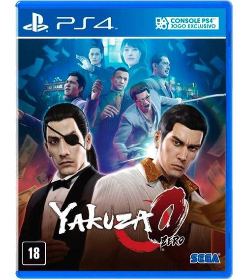 Yakuza 0 Ps4 Midia Fisica Lacrado Original Promoção