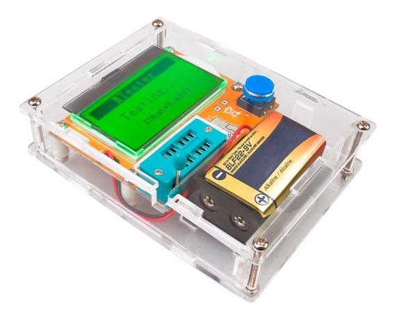 Testador De Componentes + Case + Bateria Frete Grátis!