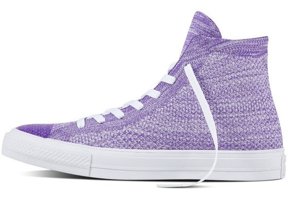 Converse Ct X Nike Flyknit Unisex Hyper Grape 157508c