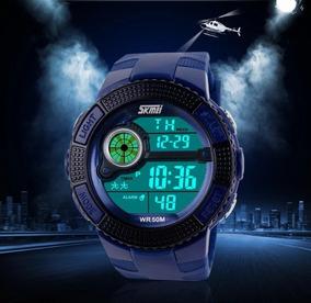 Relógio Masculino Skmei Sportivo 1027 A Prova De Água