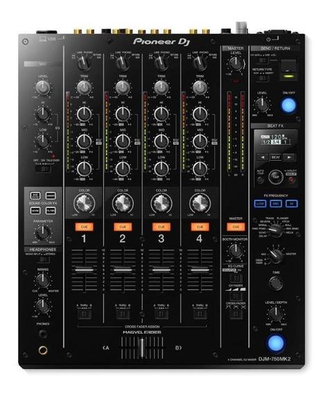 Mixer Pioneer Djm750 Mk2 Com Nota Fiscal E Garantia De 1 Ano