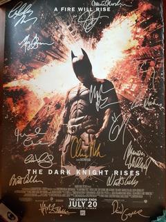 Batman Dark Knight Autografado (ñ Sideshow Iron Studios)