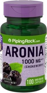 Aronia 1000 Mg Antioxidantes Beta-caroteno Folato E Minerais