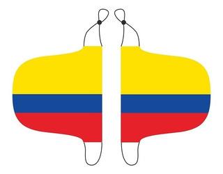 Bandera Selección Colombia Espejo Retrovisor + Bandera