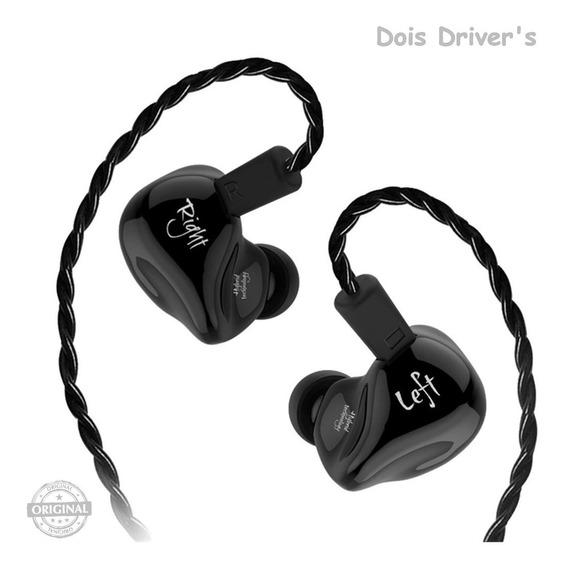 Fone In Ear Kz Zs4 - Dois Driver