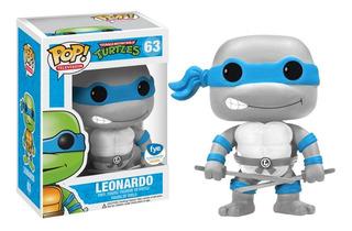Leonardo -63- Tortugas Ninja Funko Pop! Gdl Exclusivo Fye