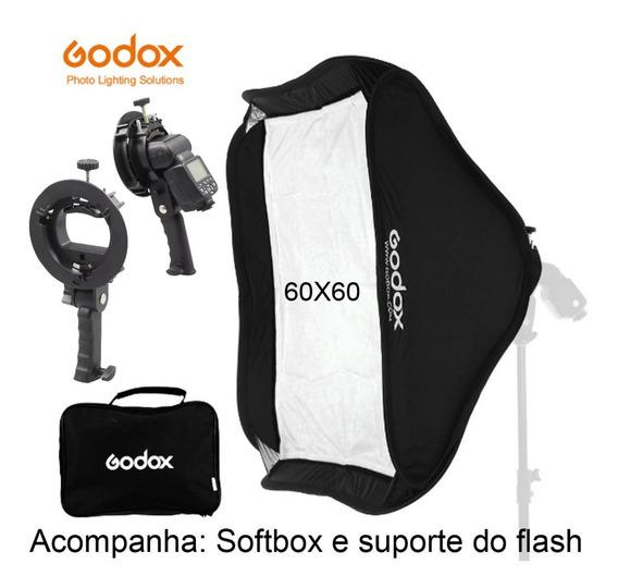 Softbox Godox 60x60cm Difusor Com Suporte Bowens