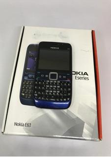 Nokia E63 3g Wifi Bluetooth Só Funciona Tim - Usado