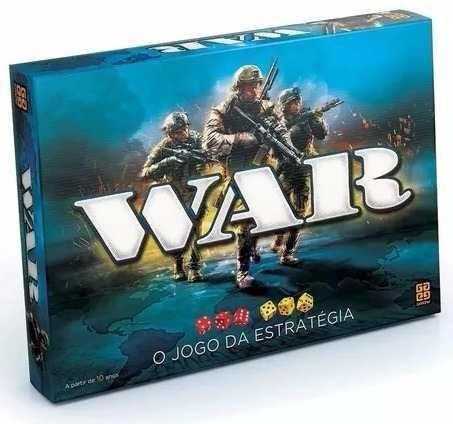 Jogo War O Jogo Da Estratégia - Grow 02000 Original