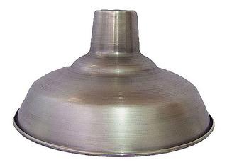 Lampara Campana De Aluminio Pulido 30cm