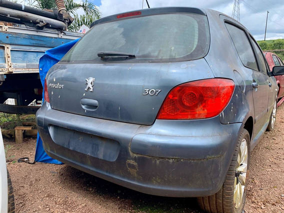 Pára-choque Traseiro Peugeot 307