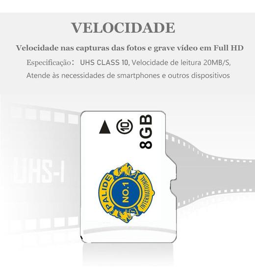 Cartao De Memoria 8gb Micro Sd / Tf