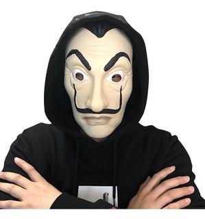 Máscara Serie Casa De Papel Resistente Halloween Hora Loca