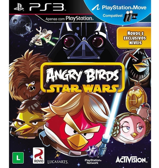 Game Play3 - Angry Birds Star Wars - Semi-novo Jogo Ps3