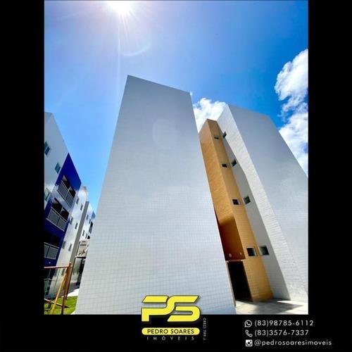 Apartamento Com 2 Dormitórios À Venda, 60 M² Por R$ 122.000 - Muçumagro - João Pessoa/pb - Ap4355