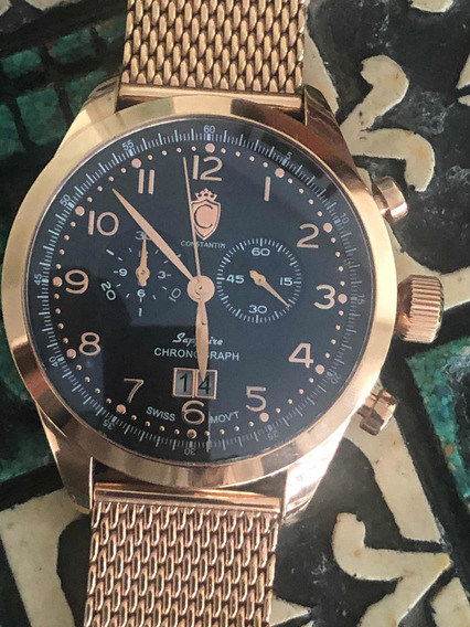 Relógio Constantim Kong Rose